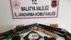 Firari Cinayet Olayı Şüphelisi Doğanyol'da Jandarma'nın nefes kesen operasyonu ile yakalandı