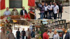MHP Malatya İl Başkanı R.Bülent Avşar, ilçe gezilerine devam ediyor.