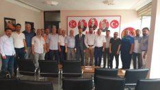 Avşar, aylık istişare toplantısını Kamu sen'e bağlı 11 sendika başkanları ile gerçekleştirdi.