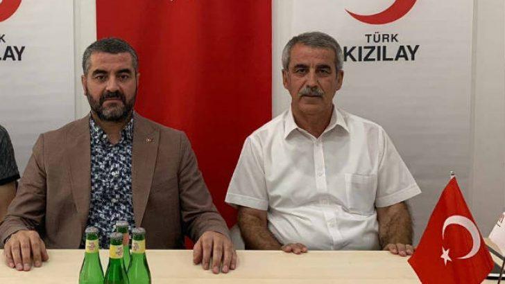 MHP İl Başkanı Bülent Avşar , Türk Kızılayı Malatya Şube Başkanı Ramazan Soyluyu ziyaret ederek bir süre istişare etti.