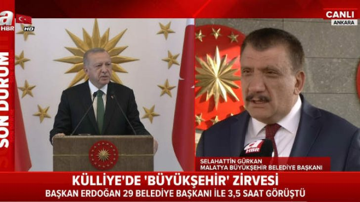 Gürkan , Beştepe'deki Büyükşehir Zirvesini Değerlendirdi .