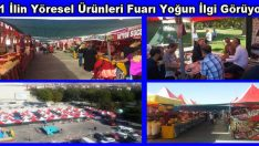 81 İlin Yöresel Ürünleri Fuarı Malatya'da Açıldı