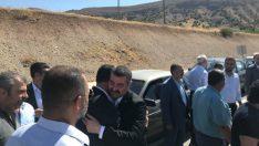 MHP İl yönetim kurulu üyeleri Hekimhan'da bir dizi ziyaretlerde bulundu.