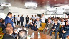 Başkan Gürkan, Akçadağlı Mahalle Muhtarlarıyla bir araya geldi.