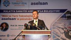 """MTÜ """"Kariyer ve marka Sohbetlerine"""" ASELSAN Başkanı Prof. Dr. Görgün katıldı"""