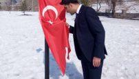 Malatya Ülkü Ocakları'ndan HER MEHMED BİR BAYRAK  Barışpınarı Harekât'ındaki Mehmetçik'e AL BAYRAKLI DESTEK