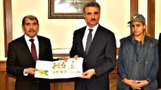PTT Başmüdürü Coşkun'dan Vali Baruş'a Ziyaret