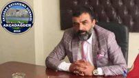 Akçadağ Dayanışma Derneğini Başkanı Cahit Leventoğlu'ndan  Barış Pınarı Harekatına Destek
