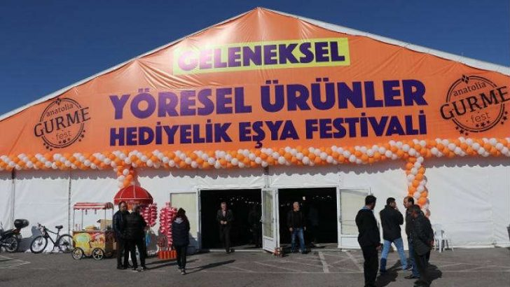 Malatya Yöresel Ürünler ve Hediyelik Eşya Festivali Başladı.
