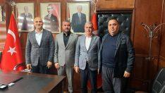 Olcay Kılavuzdan Başkan Avşar'a Ziyaret
