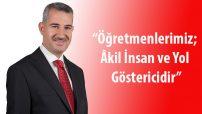 Yeşilyurt Belediye Başkanı Mehmet Çınar'ın 24 Kasım Öğretmenler Günü Mesajı