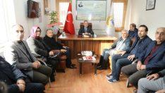 Güder, Ziraat Mühendisleri Odası Başkanı Fevzi Çiçek'i ziyaret etti.