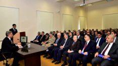 Vali Baruş, İl Müdürleriyle Toplantı Düzenledi