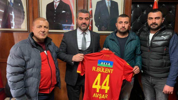 Malatyaspor Taraftarlar Derneğinden Başkan Avşar'a Ziyaret