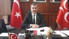 "MHP Malatya İl Başkanı R.Bülent Avşar, ""2020, Türkiye'nin toparlanma, silkinip ayağa kalkma yılı olmalıdır dedi"