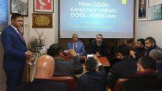 Malatya Fatih Lisesi Müdürü ve Ülkü Ocakları İl Eski Başkanı Fevzi Şahin Doğu Türkistan'da Yaşananları Anlattı