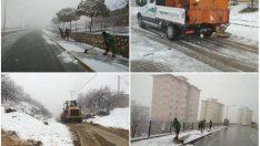 Yeşilyurt'un Dört Bir Tarafında  Yol Açma Çalışmaları Sürüyor