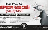 Yeşilyurt Belediyesi, 'Malatya'da Deprem Gerçeği Çalıştayı' düzenleyecek.