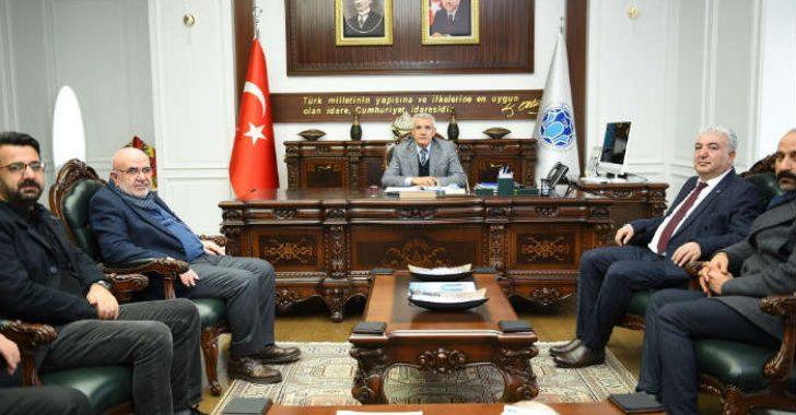 Battalgazi Belediye Başkanı Osman Güder'e geçmiş olsun ziyaretleri devam ediyor