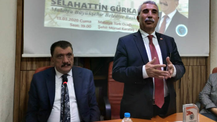 Malatya Büyükşehir Belediye Başkanı Selahattin Gürkan Türk Ocağında