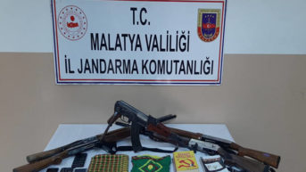 Malatya'da Nevruz Bayramı öncesi PKK/KCK sempatizanlarına operasyon.