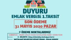 Battalgazi Belediye'nde Vezneler Hafta Sonu Açık Olacak