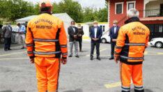 Başkan Güder'den Temizlik Personeline 1 Mayıs Müjdesi