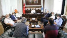 Başkan Güder, Yapılacak Yeni Yatırımları Muhtarlarla Paylaştı