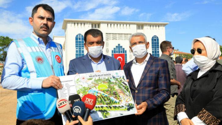 Bakan Kurum Battalgazi Belediyesini  Ziyaret Etti