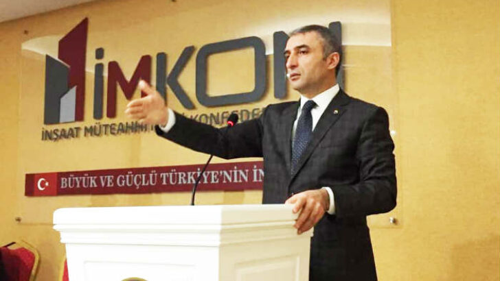 """İmkon Başkanı Tellioğlu"""" Konut Kredi Fazillerin düşmesini fırsatçılığa çevirmeyin dedi"""