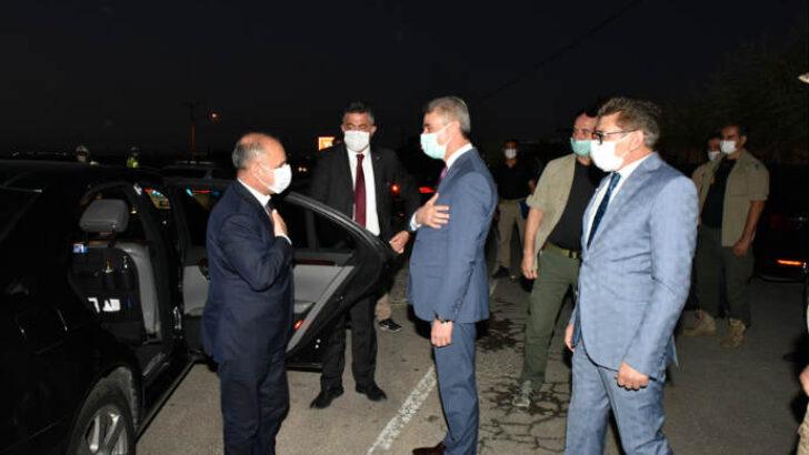 Emniyet Genel Müdürü Aktaş Trafik Kontrol Noktasını Ziyaret Etti