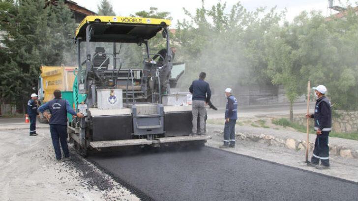 Battalgazi Belediyesi, 1,5 yılda ilçede asfaltlanmadık yol bırakmadı.