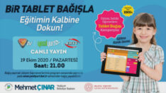 Çocuklarımızın Eğitimi İçin, Bir Tablet Bağışla Eğitimin Kalbine Dokun