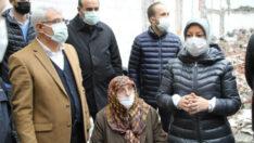 Fuzuli Caddesi'ndeki Depremzedelerin Sıkıntıları Çözüldü