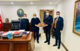 Malatya İnşaat Müteahhitler Derneği Yönetim Kurulu Üyeleri Ankara'da Temaslarda Bulundular