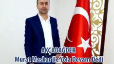 AKÇADAĞDER Murat Maskar ile Yola Devam Dedi