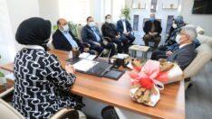 Battalgazi Belediye Başkanı Osman Güder, hayırlı olsun ziyaretleri kapsamında