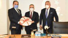 """Keskin, """"Esnafın beklentisi MB Başkanı Ağbal'a iletildi"""""""