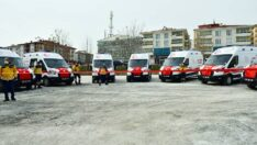 Ambulans Anahtar Teslim Töreni Düzenlendi