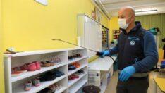 Battalgazi Belediyesi,ilçedeki iş yerlerinde ve okullarda kapsamlı dezenfeksiyon çalışmaları başlattı.