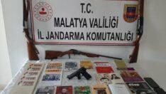 Jandarma'dan Akçadağ'da DHKP/C Propagandası yapan şahıslara operasyon
