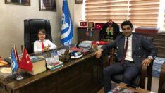 23 Nisan Ulusal Egemenlik ve Çocuk Bayramı gelenekleri çerçevesinde Malatya Ülkü Ocakları Başkanlığı Makamı Ali Murat Şenel'e Emanet