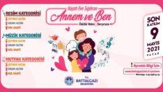 """Battalgazi Belediyesi, Anneler Günü'ne özel """"Hayatı Eve Sığdıran Annem ve Ben"""" konulu video yarışması düzenliyor."""