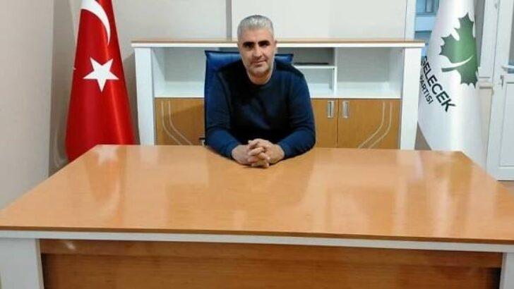 Gelecek Partisi Yeşilyurt İlçe Başkanlığına Erhan Demir Atandı
