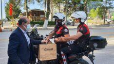 Esenlik Genel Müdürü Ata Ünlü Polis noktalarını ziyaret etti