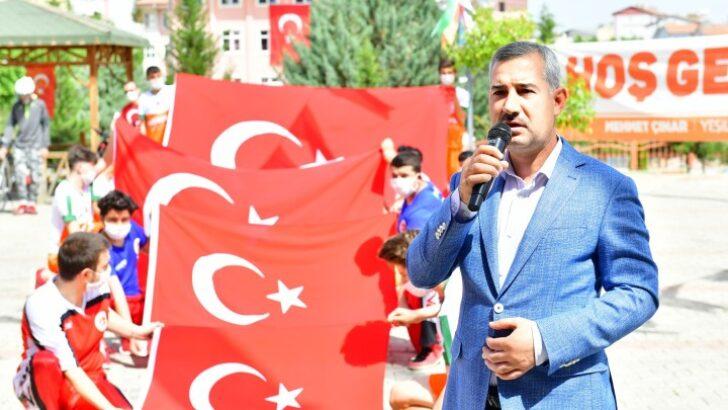 Yeşilyurt Belediye Başkanı Mehmet Çınar, 19 Mayıs Milli Mücadelenin ruhudur