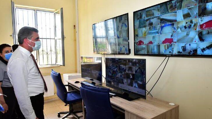 Vali Baruş, Yeni Geri Gönderme Merkezinde İncelemelerde Bulundu