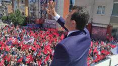 """İmamoğlu, Malatya'da konuştu: """"İstanbul'u 16 milyon insanın iradesi yönetiyor artık"""""""