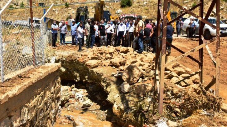 Vali Baruş, Kozluk Mahallesinde İncelemelerde Bulundu