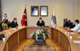 2021 yılı üçüncü İl İstihdam ve Mesleki Eğitim Kurulu toplantısı Vali Aydın Baruş Başkanlığında gerçekleştirildi.